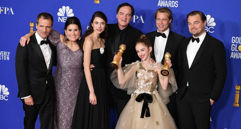 Quentin Tarantino tire son épingle du jeu aux Golden Globes, Martin Scorsese bredouille